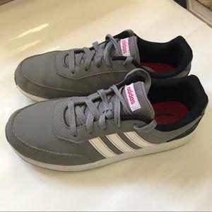 Adidas Cloudfoam Advantage Cl Gray Sneaker Size 6